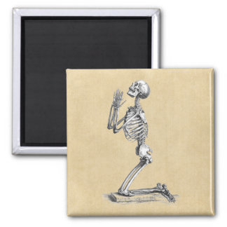 Skeleton Praying Magnet