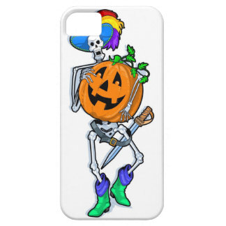 Skeleton Pumpkin iPhone 5 Cases