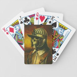 Skeleton Roundhead Playing Cards