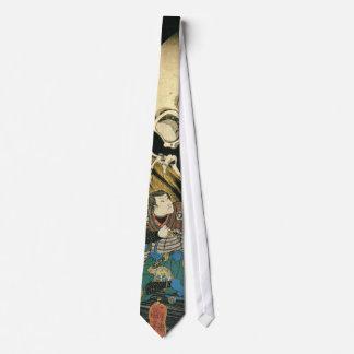 Skeleton Spectre by Kuniyoshi Utagawa Detail Tie