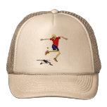 skeleton sports hackysack cap
