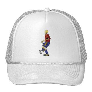 Skeleton Sports Soccer Cap