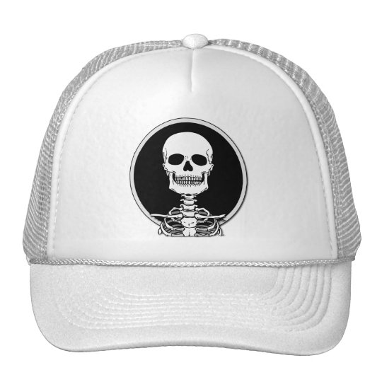Skeleton T-Shirts and Hoodies Cap