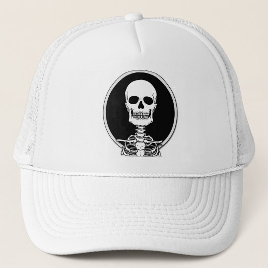 Skeleton T-Shirts and Hoodies Trucker Hat