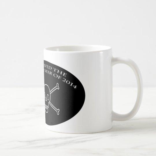 Skeleton war mug