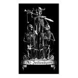 Skeleton Warrior Pack Of Standard Business Cards