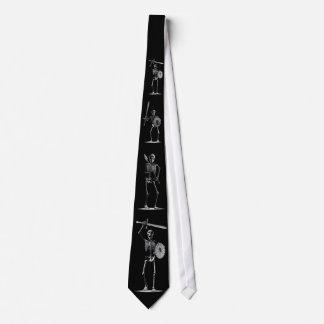 Skeleton Warriors Tie