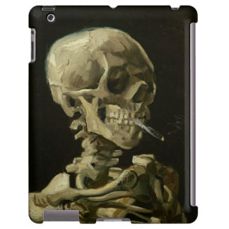 Skeleton with Cigarette 1886 iPad case