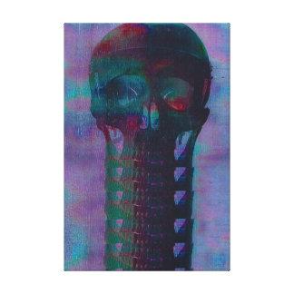 Skeleton Wrapped Canvas 50.8 cm x 40.6 cm