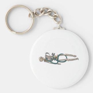 SkeletonAndStethoscope111311 Key Ring