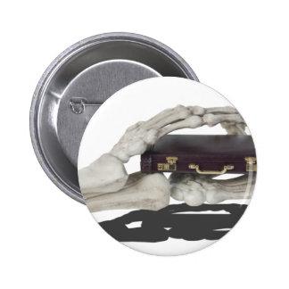 SkeletonHandsBriefcase081614 copy 6 Cm Round Badge