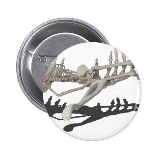 SkeletonHandsHoldingSkeleton081914 copy 6 Cm Round Badge