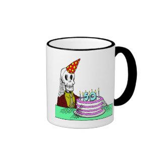 Skeletons 50th Birthday Gifts Mugs