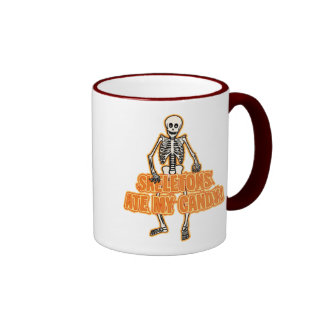 Skeletons Ate My Candy! Coffee Mug