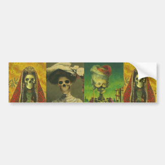 Skeletons Bumber Sticker Bumper Sticker
