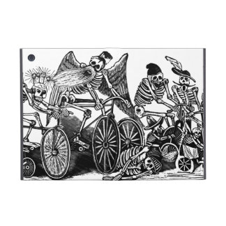 Skeletons on Bicycles iPad Mini Case