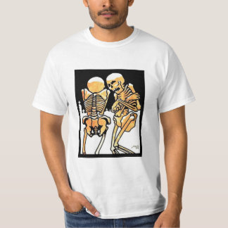 Skeletons out in the cold T-shirt