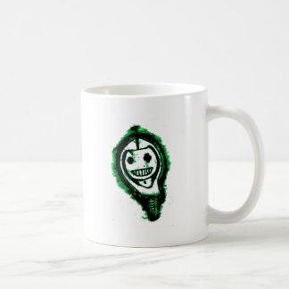 Skeley in a Hoodie Basic White Mug