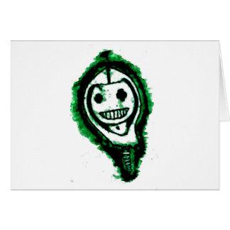 Skeley in a Hoodie Greeting Card