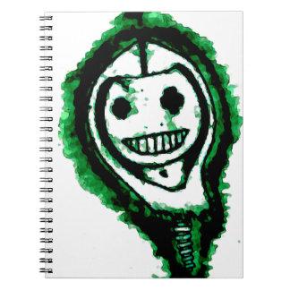 Skeley in a Hoodie Notebooks