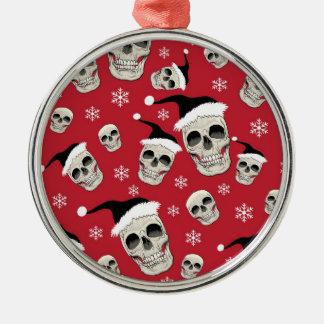 Skelly Santas Ornament