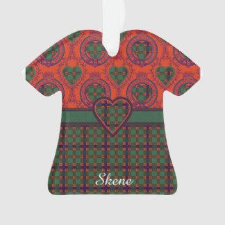 Skene clan Plaid Scottish tartan Ornament