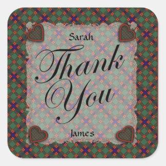 Skene Scottish clan tartan - Plaid Sticker