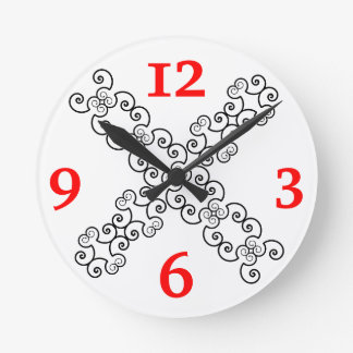 Sketch 6+5 clock