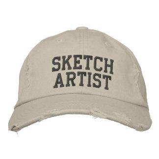 Sketch Artist Embroidered Hat