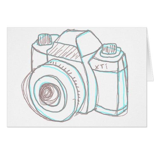 sketch camera card