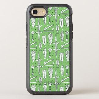 Sketch Crocodile Pattern OtterBox Symmetry iPhone 8/7 Case