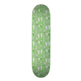 Sketch Crocodile Pattern Skateboard Decks