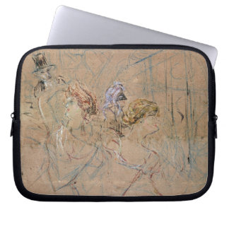 Sketch for 'At the Masked Ball', c.1892 (coloured Laptop Sleeve
