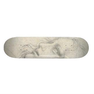 sketch for Leonardo da Vinci's Last supper.. 21.6 Cm Old School Skateboard Deck