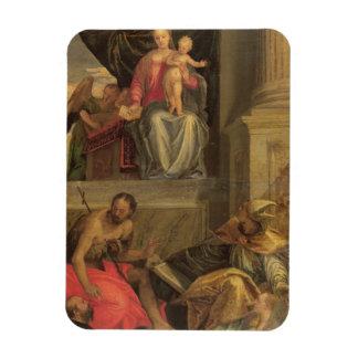 Sketch for the Bevilacqua Altarpiece Rectangular Photo Magnet
