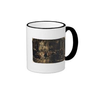 Sketch for The Flute Concert, 1852 Ringer Coffee Mug