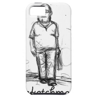 sketch man iPhone 5 covers