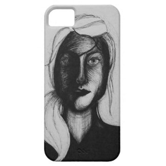 Sketch of a Girl iPhone 5 Cover