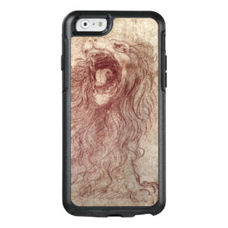 Sketch of a roaring lion OtterBox iPhone 6/6s case