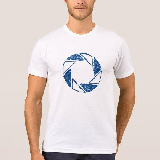Sketch of Lens Aperture T-Shirt