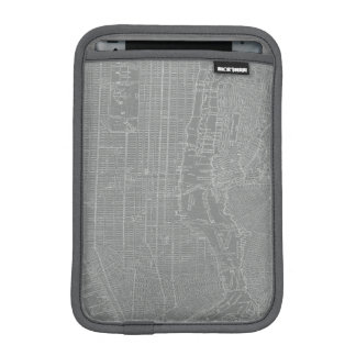 Sketch of New York City Map iPad Mini Sleeve