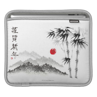Sketch of Scenery iPad Sleeve