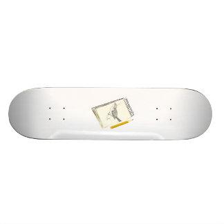 Sketch Pad Bird Custom Skate Board