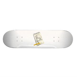 Sketch Pad Drawing Skate Deck