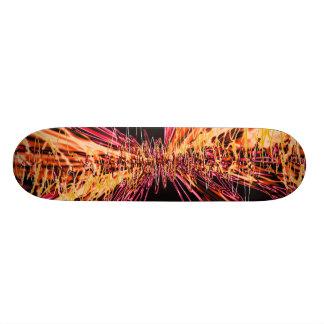 sketch custom skate board