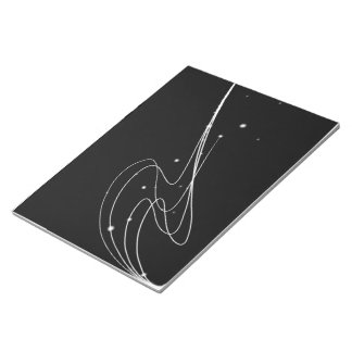 Sketchbook with Abstract Design cover Notepad