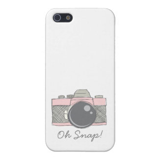 Sketched camera iphone case iPhone 5/5S case