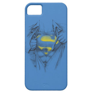 Sketched Chest Superman Logo Barely There iPhone 5 Case