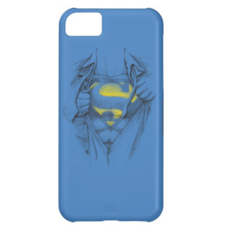 Sketched Chest Superman Logo iPhone 5C Case