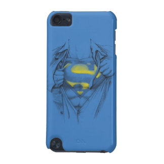 Sketched Chest Superman Logo iPod Touch (5th Generation) Cases